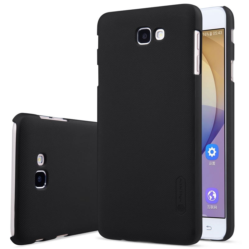 Samsung Galaxy J5 Prime Frosted Hard Back Cover by Nillkin with FREE Screen Protector